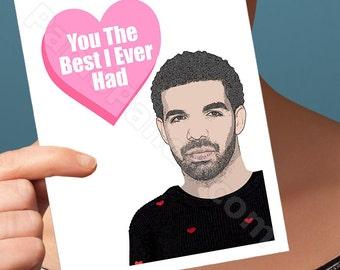 Drake Funny Birthday Card | 21st birthday for him 30th card for boyfriend him husband men husband birthday boyfriend birthday gifts for love