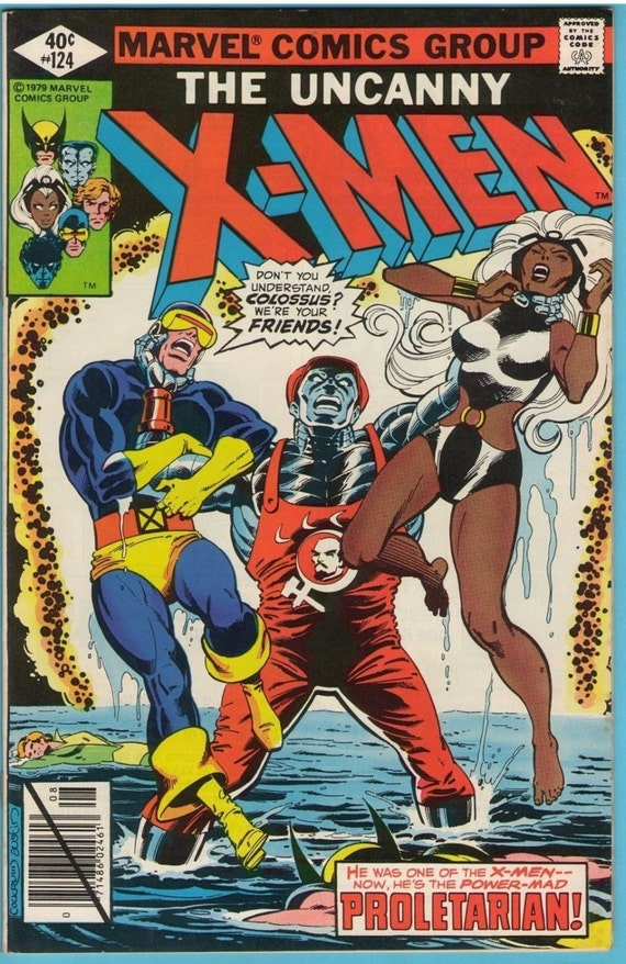 X-Men 124 Aug 1979 VF (8.0)