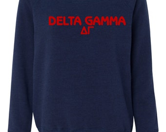Delta gamma, Delta Gamma Sweatshirt, delta gamma shirt, delta gamma sweats, delta gamma gift, sorority sweatshirt, greek sweatshirt