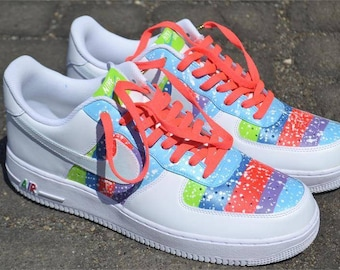 Customized Nike Air Force 1s