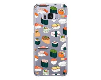 Sushi | Samsung Galaxy S9 Plus case | Samsung S9 case | Samsung S8 Plus case | Nom Nom | Samsung Galaxy S8 case | Note 8 case | Food | Cute