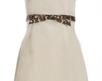 Khaki Dress- Halter