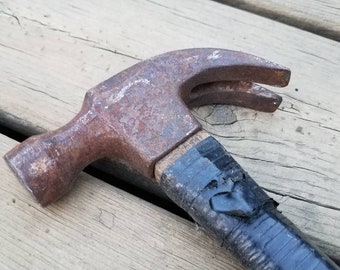 Vintage Claw Hammer // Hammer // Claw Hammer // Man Cave // Work Shop // Hand Tools // Made in the USA