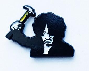 OldBoy enamel pin // 1 inch, hat pin, lapel pin, Korean cinema, Indie film, lady vengeance, Horror