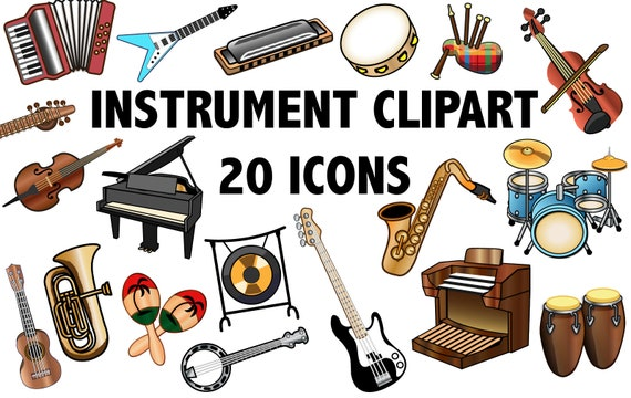 instrument clipart band clipart music clip art instrument rh etsy com clipart instruments musical instruments clipart png