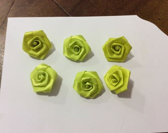 Set of 6 flowers to sew