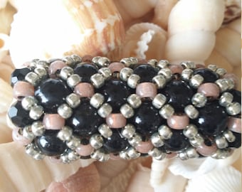 Beadweaving Two Inch Slide