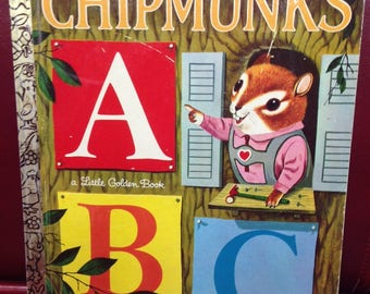 Chipmunk's ABC.  A Little Golden Book