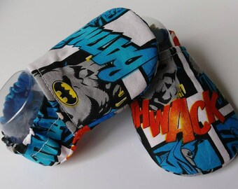 Baby boy soft sole shoes, boys booties, cotton booties, 0-6 month shoes, baby shower gift, baby boy booties, baby soft shoes, Batman shoes