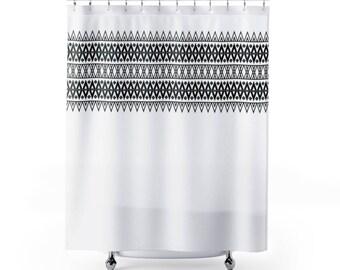 Boho Chic Shower Curtain