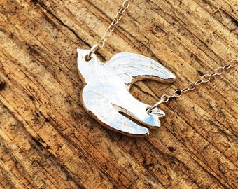 Flying Bird Pendant