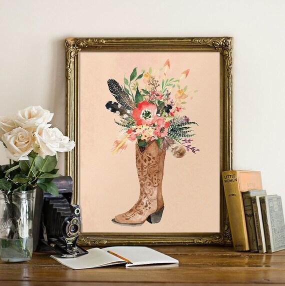 Items Similar To Country Girl Decor, Teen Girl Wall Art