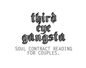 Soul Contract for Couples Reading