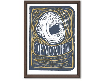 Of Montreal Poster