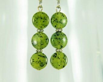 Canadian Jade / Nephrite Earrings