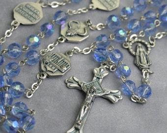rosary necklace rosary catholic rosary cross necklace necklace catholic catholic jewelry beaded necklace handmade rosary catholic gift