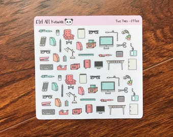 Two Tuesday: Office Planner Stickers