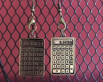 Calculator Earrings