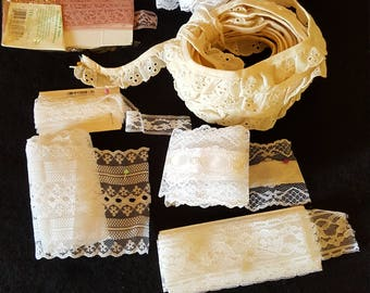 Vintage Assorted Lace