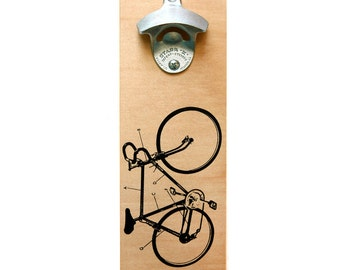 Wall-Mount bottle opener