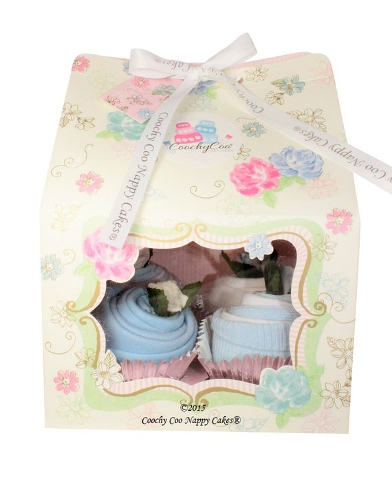 Baby Clothes Cupcakes Vintage Tea Party Baby Shower Gift