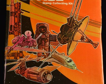 Outer Space - Stamp Collecting Kit -