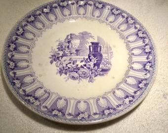 Joseph Clementson Dinner Plate