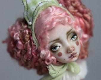 Porcelain BJD Doll Victorian Strawberry Clown Rea FHDolls Forgotten Hearts