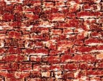 Sleigh Ride Red Brick fabric 68793-851 from Wilmington Prints by the yard