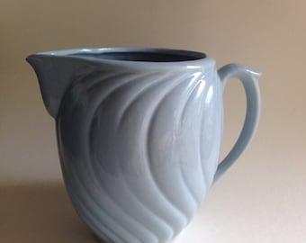 Vintage USA McCoy Pottery Pale Blue Pitcher