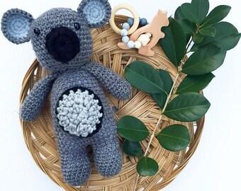Crochet Australian Koala Bear