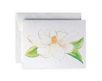 Magnolia Greeting Card or Notecard Set