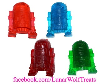 Ready to Ship! 4 Small Gummy R2D2s