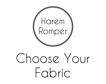 Baby Harem Romper, Toddler Harem Romper, Baby Romper, Toddler Romper, Harem Romper, Baby Girl Romper, Baby One Piece, Choose Your Fabric