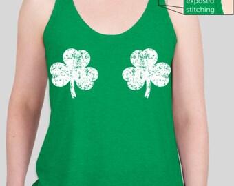 Shamrocks St Patrick's Day Tank