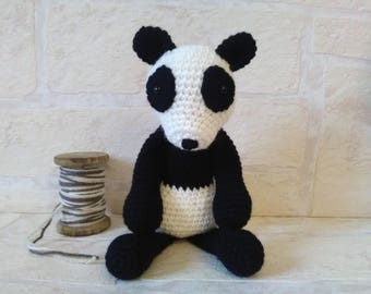 Panda crochet ref.1629