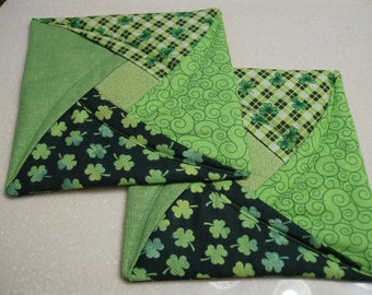 St. Patrick's Day Potholders