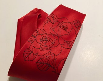 Roses, Red  Necktie