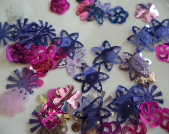 Vintage Assortment of  Sequins and Spangles