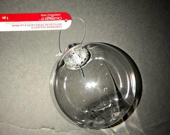 FLASH SALE! Plastic and Glass Ball Ornament