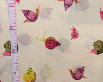 Sleeping Porch #42209-6 by Heather Ross for Windham Fabrics Snails