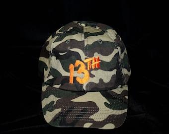 Camo 13th Friday Hat