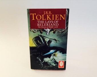 Vintage Fantasy Book The Lays of Beleriand: History of Middle Earth 3 by J.R.R. Tolkien Paperback
