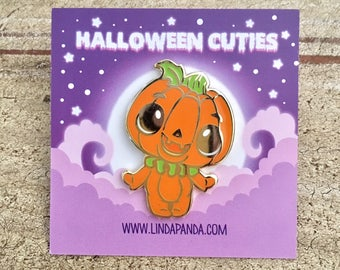 Pumpkie the Pumpkin Hard Enamel Lapel Pin