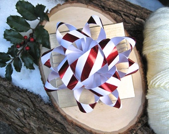 Big Ol' Gift Bow - Peppermint