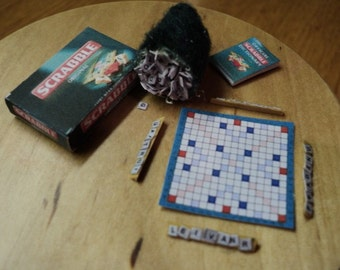 DOLLS HOUSE MINIATURES - 1/12th Scrabble