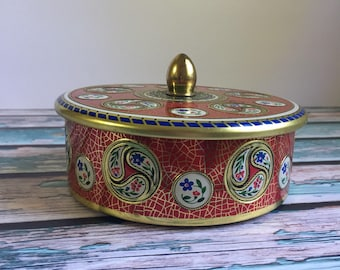 Vintage made in Holland Tin Container