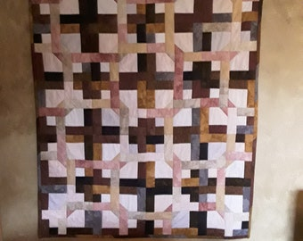 COUNTRY THROW QUILT