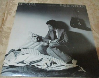 Vintage 1977 LP Record Billy Joel The Stranger Columbia Records JC-34987 Excellent Condition 16784