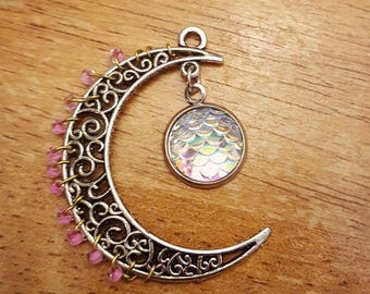 Moon wire wrap
